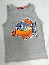 Tílko s rybou, george,116