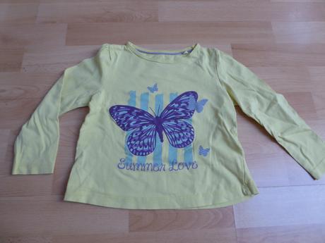 Tričko s motýlem, lupilu,98