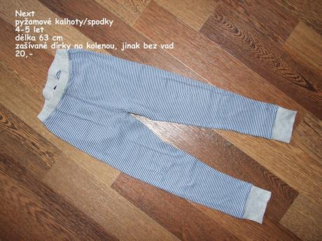 Pyžamové kalhoty, next,116