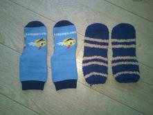Teplé ponožky do vel. 30, 28