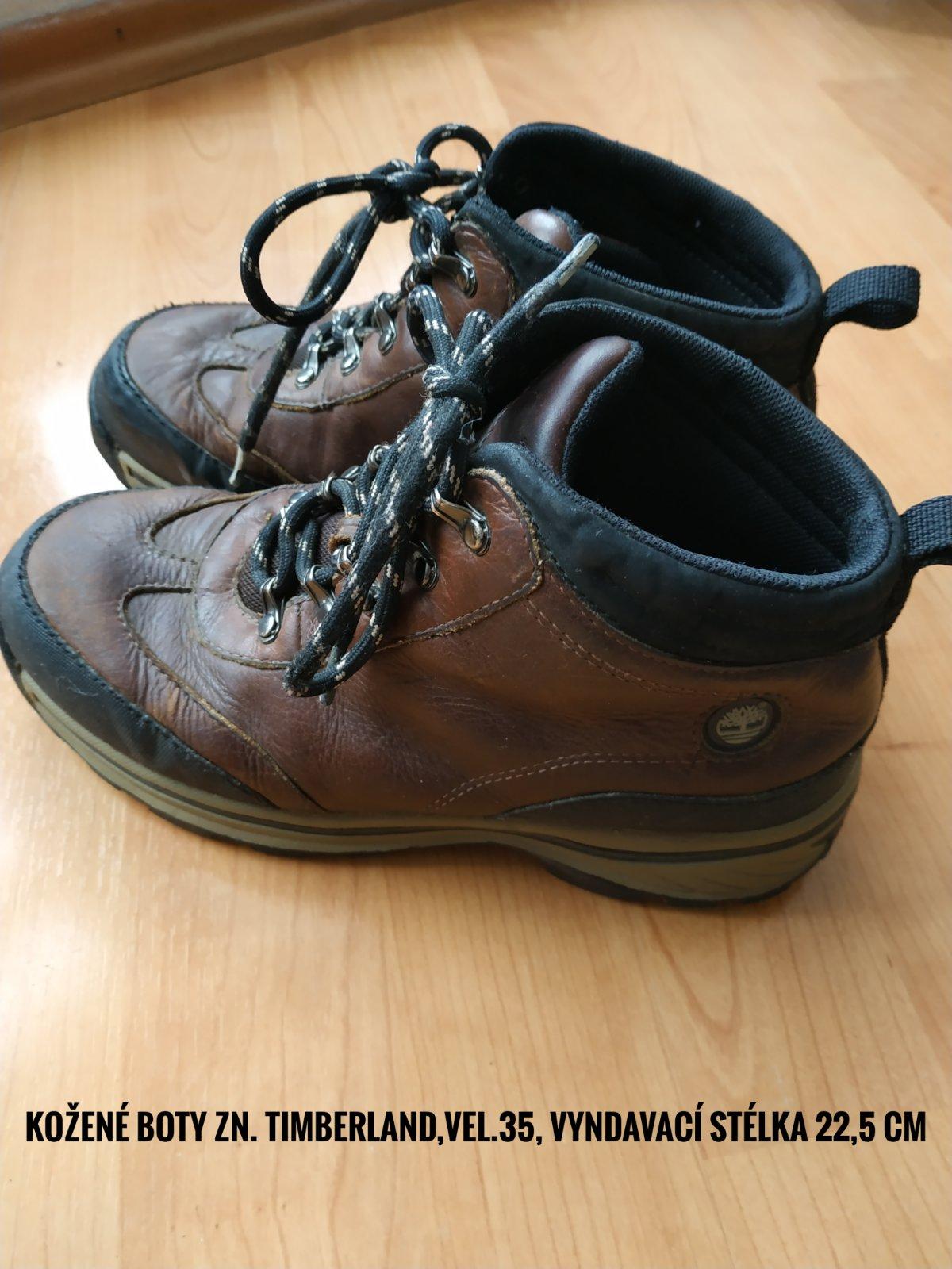 Kožené boty timberland 577d64ef3e7