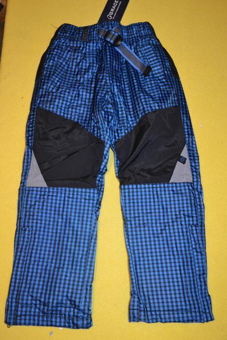 Oteplené šusťákové kalhoty,fleece uvnitř, 98 / 104 / 128