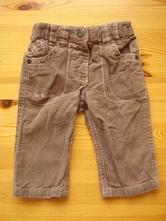 Dívčí manchestrové kalhoty zn. next vel. 68, next,68