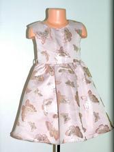 Slavnostní sváteční společenské šaty s motýly, monsoon,122