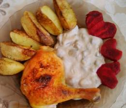 Pečené kurča