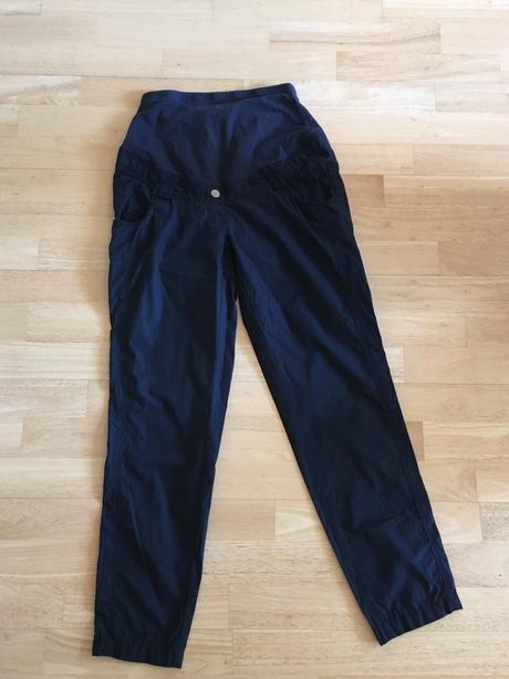 Těhotenské plátěné kalhoty, vel. 36, zn. c&a, 36