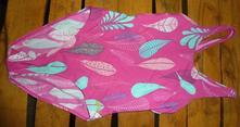 Plavky růžové dívčí, asi 8let, 128