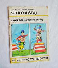 Dětský časopis čtyřlístek 69/ sedlo a stáj,