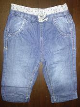 Měkké džíny podšité bavlnou zn. f&f, f&f,68