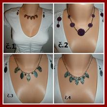 Set řetízek - náhrdelník + náušnice,