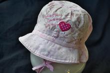 Letní klobouček na zavázání , 68 - 104