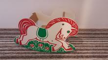 Dřevěné houpací koně,
