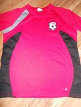 Sportovni triko, zn.champion vel. 134,