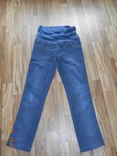 Těhotenské džíny rovné, 38