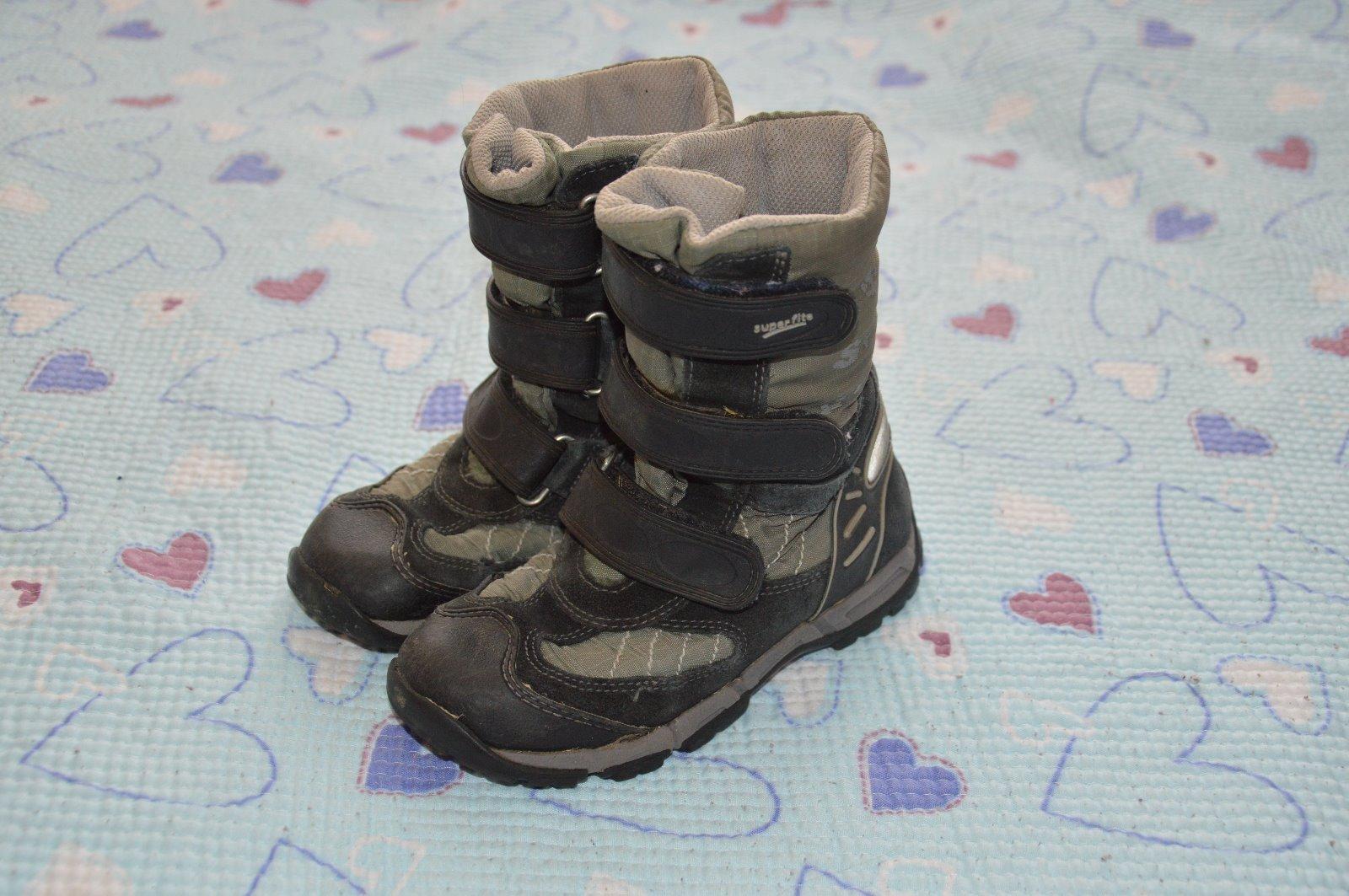Vysoké zimní boty goretex gore tex superfit b9ed30df39