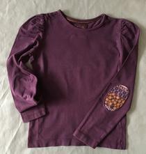 Vel. 116 fialové triko, tu,116