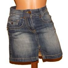 Džínová, riflová sukně so funky vel.36, 36