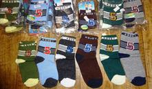 Nové ponožky vel 24-26 a 27-30 - 30 parů, 24 - 30