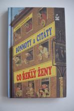 """Prodám knihu """"bonmoty a citáty"""" (ivan fontana),"""