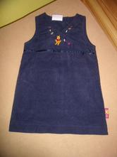 Šaty s medvídkem pú-v.98/104, mothercare,98
