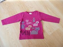 Dívčí triko s dlouhým rukávem, vel.86, 86