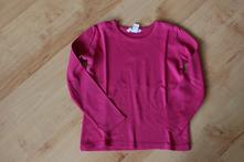 Růžové tričko s dlouhým rukávem zn. h&m , h&m,110