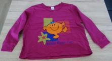Fialové triko s obrázkem, bhs,104