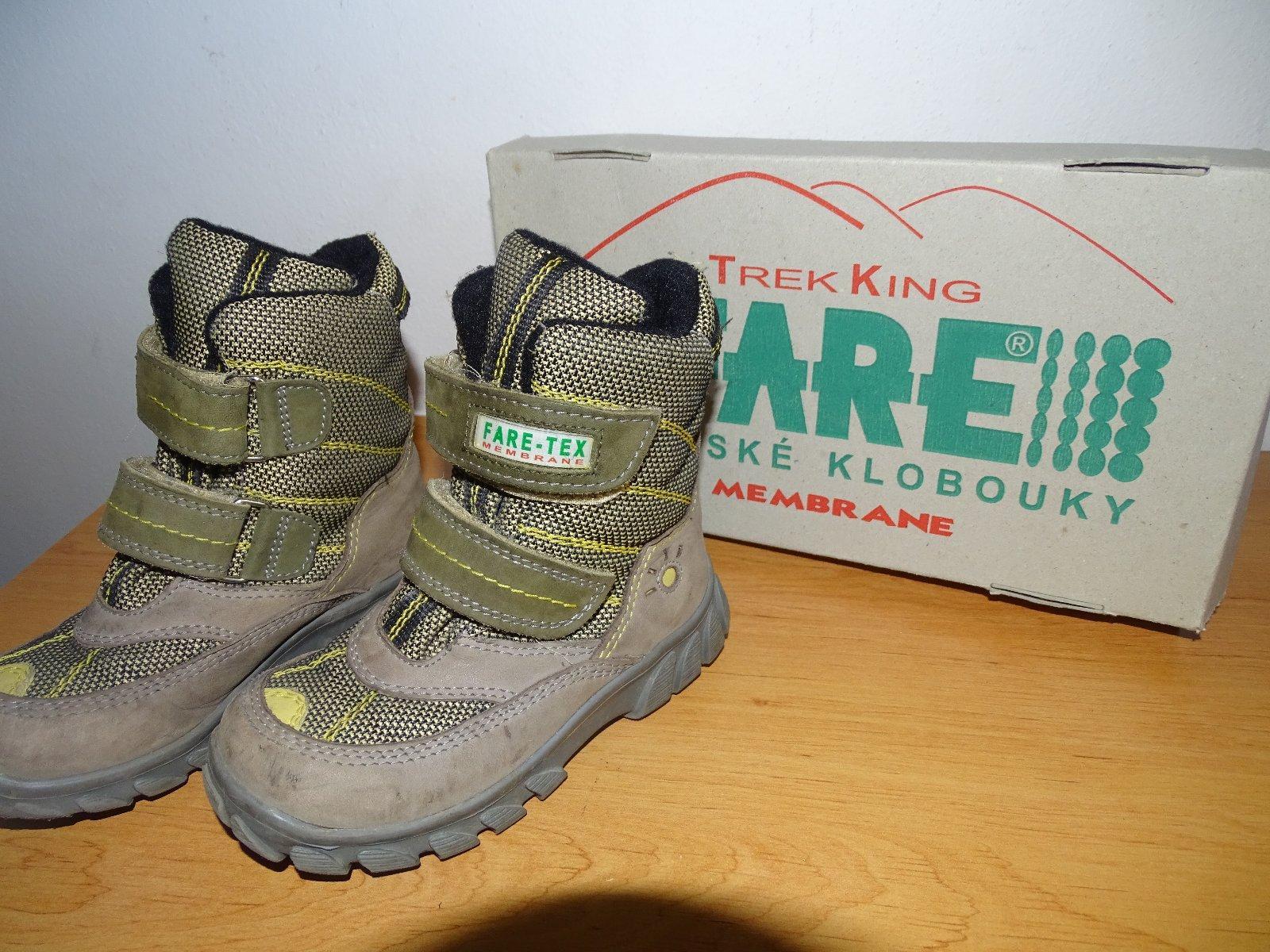 6b9a43c5fc4 Fare zimní goretexové boty vel. 25
