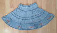 Džínová sukně & sukýnka nkd berti vel. 128, berti,128