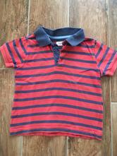 Prouzkovane triko s knoflicky, f&f,92