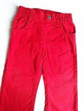 Červené plátěné kalhoty, lupilu,80