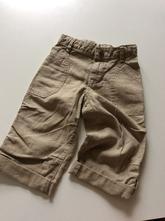 Lehké lněné rollup kalhoty, gap,92
