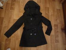 Černý jarní/podzimní kabát, gate, vel.s , gate,s