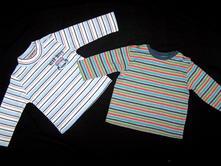 Nové tričko caiba + tričko tu, tu,68