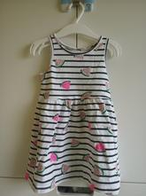 Melounové letní šaty h&m ve vel. 92, h&m,92