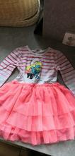 Krásné šaty se šmoulinkou s tylovou sukní, h&m,98