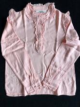 Růžová košile, h&m,128