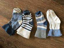 4 páry bavlněných ponožek, early days,21