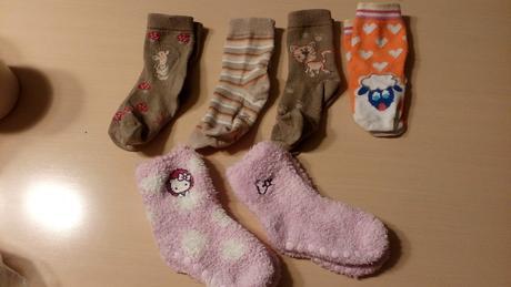 Ponožky mix vel.86/92, kik,86