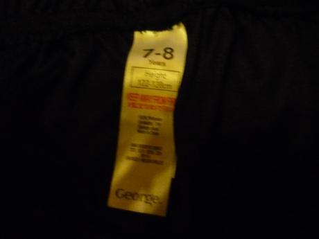 Tepláky s pruhem/kalhoty ke kostýmu., george,128