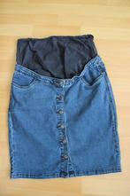 Těhotenská džínová sukně, 38