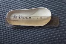 Růžové botičky na suchý zip, protetika,21