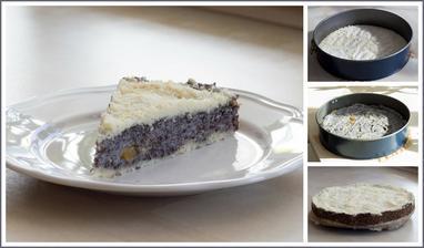 Makovo-pudinkový koláč