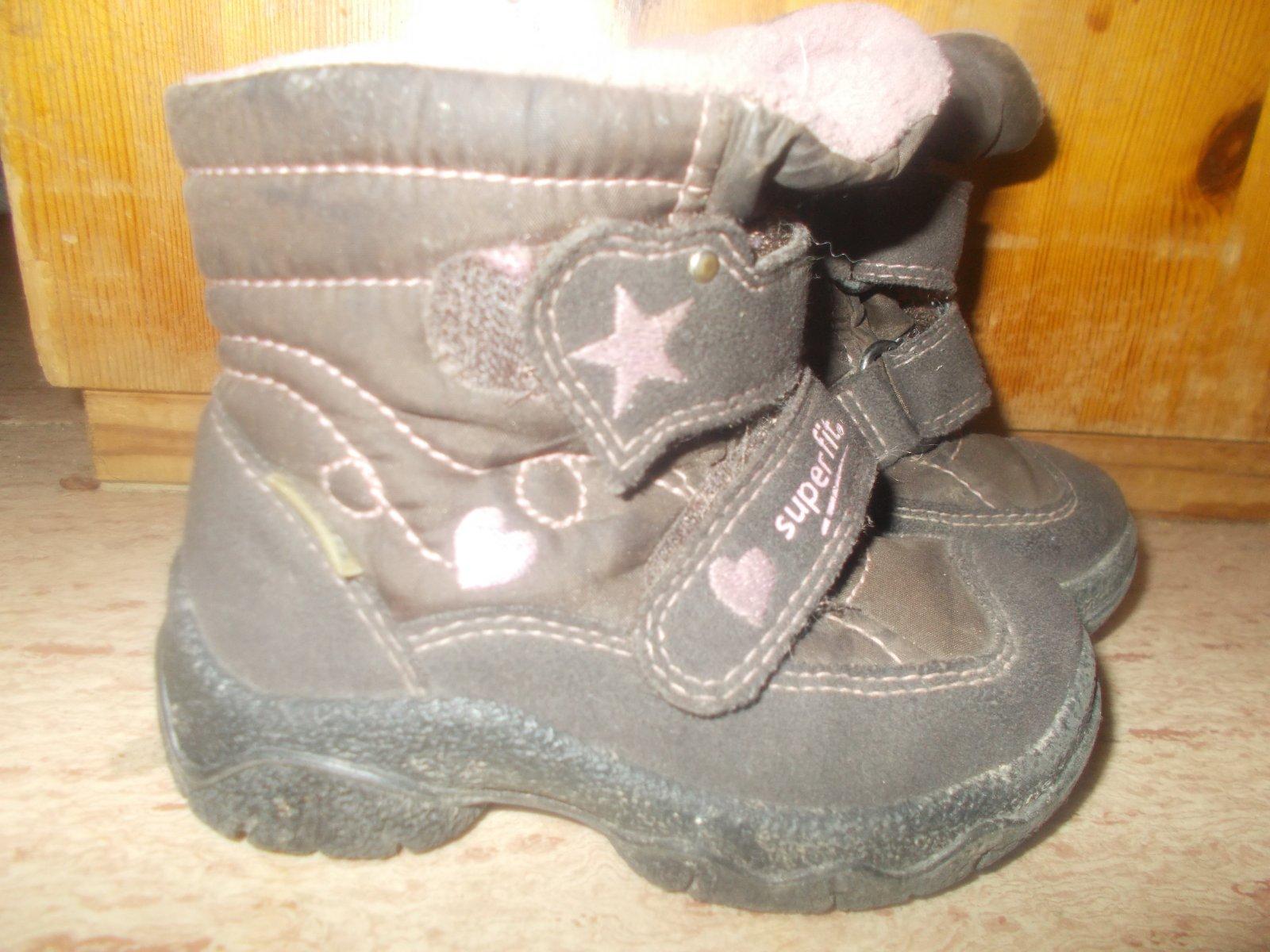 Zimní teplé boty superfit 21 0335da766d