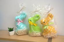 Velikonoční zajíček - mix barev a vzorů,