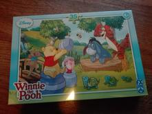 Nové puzzle medvídek pú,