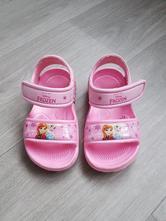Gumové sandálky frozen, deichmann,22