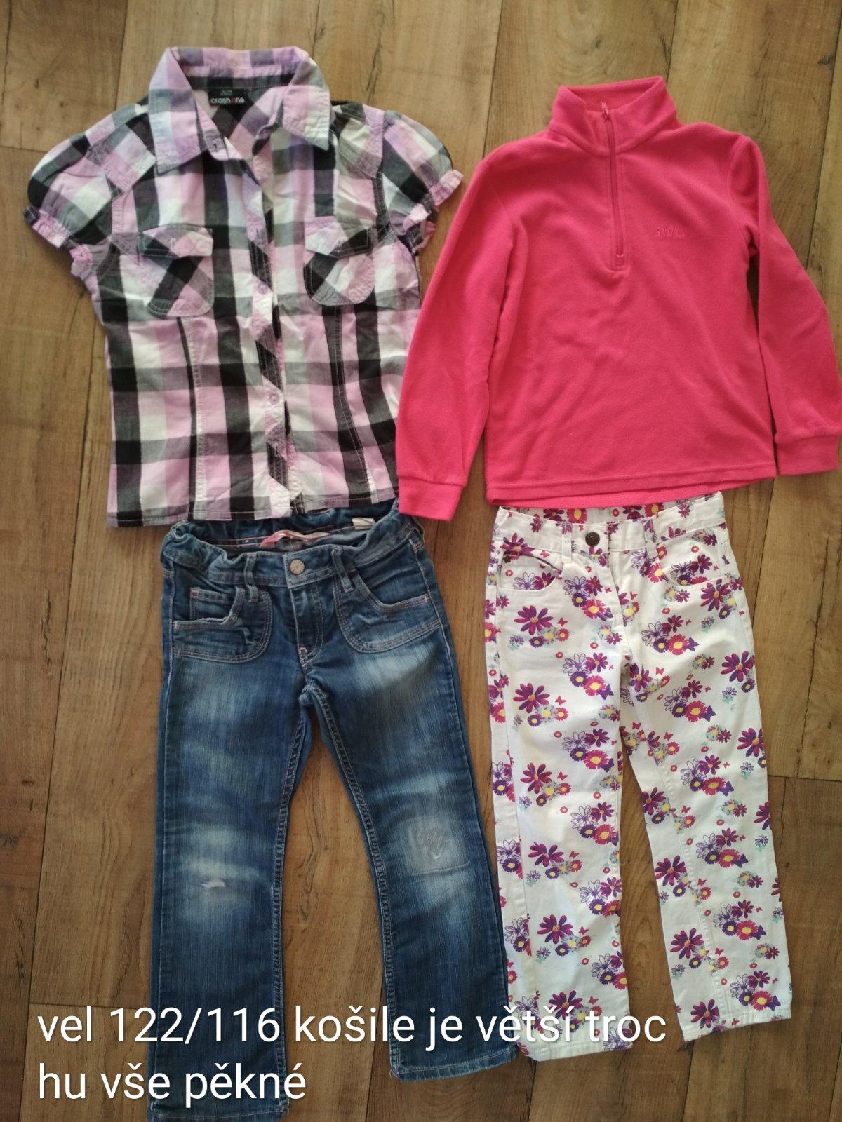 Mix oblečení 116 122 0181e57e79