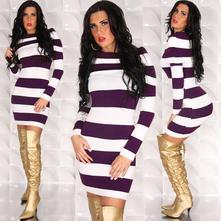 Tunika / šaty carmen - více barev, l / m / s