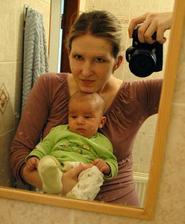 s mamkou - je mi 7 týdnů